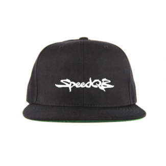 SpeedQB Supra 6 panel Snapback - Black