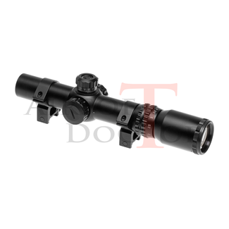 AIM-O 1-4x24 SE Tactical Scope - Black
