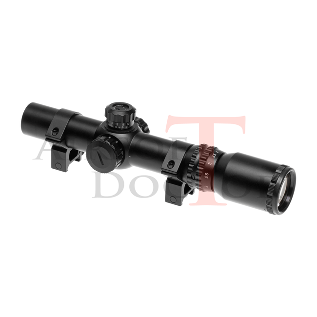 AIM-O 1-4x24 SE Tactical Scope - Black