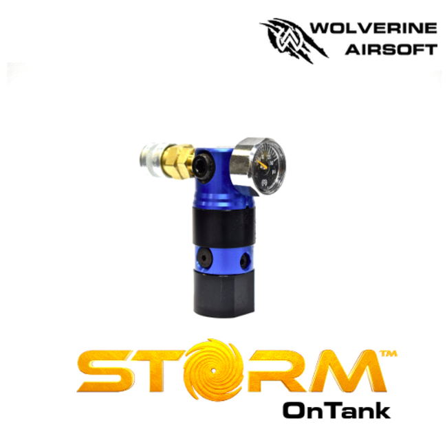 Wolverine Storm Regulator (Blue) with Remote Line