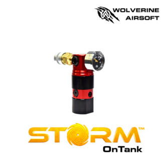 Wolverine Storm Regulator (Red) with Remote Line