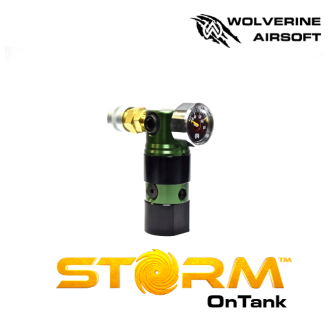Wolverine Storm Regulator (Green) with Remote Line