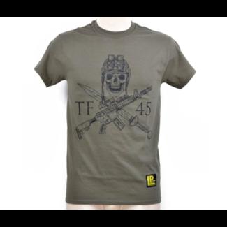T-Shirt 'TF 45 - SI VIS PACEM PARA BELLUM' OD