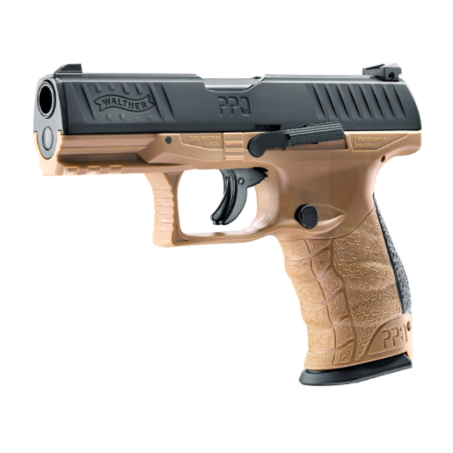 Walther PPQ M2 T4E CAL. 43 - CO2 - Tan