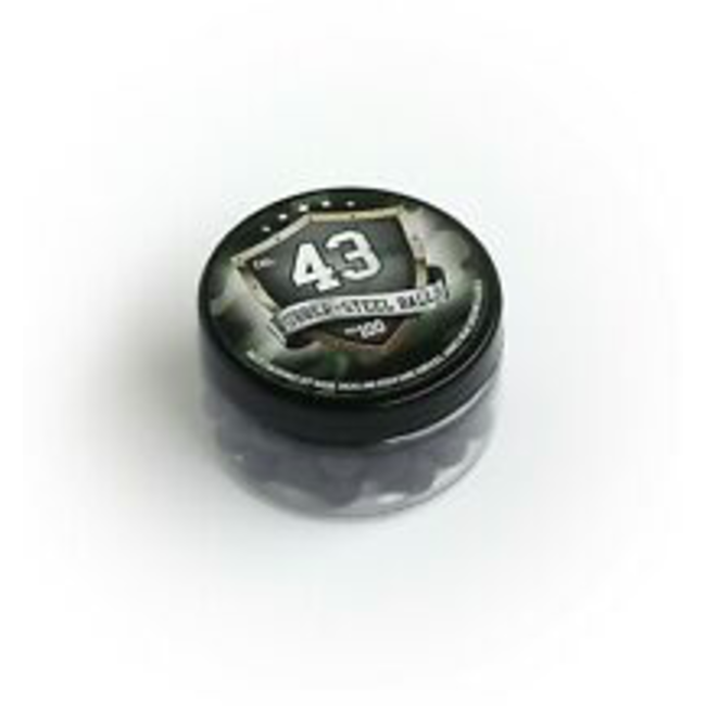 Walther Rubber Balls Metal - T4E .43 - 100stuks