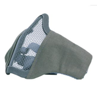101 Inc. Nylon / Mesh Face Mask - GREY