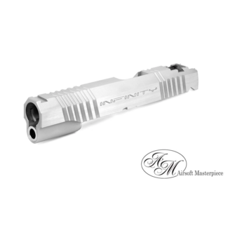 Airsoft Masterpiece Infinity formula slide for hi-capa - Silver