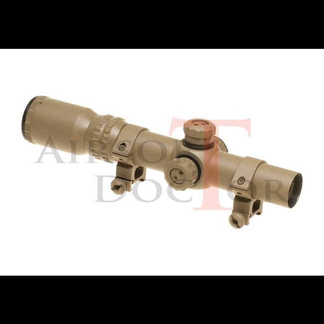 AIM-O 1-4x24 SE Tactical Scope - Tan
