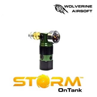 Wolverine Storm Regulator (Green) - Without line