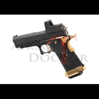 Armorer Works Custom HX2601 - Full Metal GBB (Black/Red/Gold)