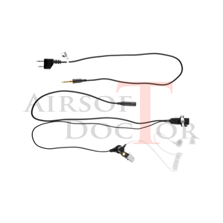 Z-Tactical FBI Style Acoustic Headset Midland Connector
