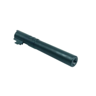 MonkCustoms Threaded Outer Barrel .45  For Hi-Capa 5.1 - Black