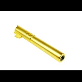 MonkCustoms Threaded Outer Barrel .40 S&W For Hi-Capa 5.1 - Gold