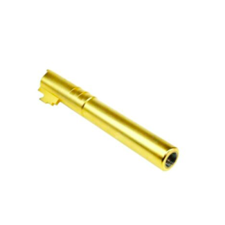 MonkCustoms Threaded Outer Barrel .45  For Hi-Capa 5.1 - Gold
