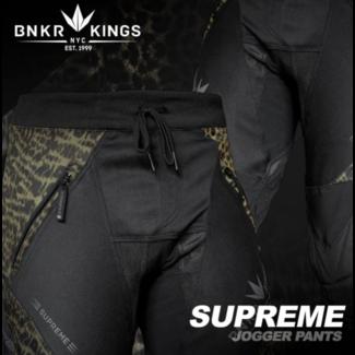 Bunkerkings Supreme Jogger pants - Leopard
