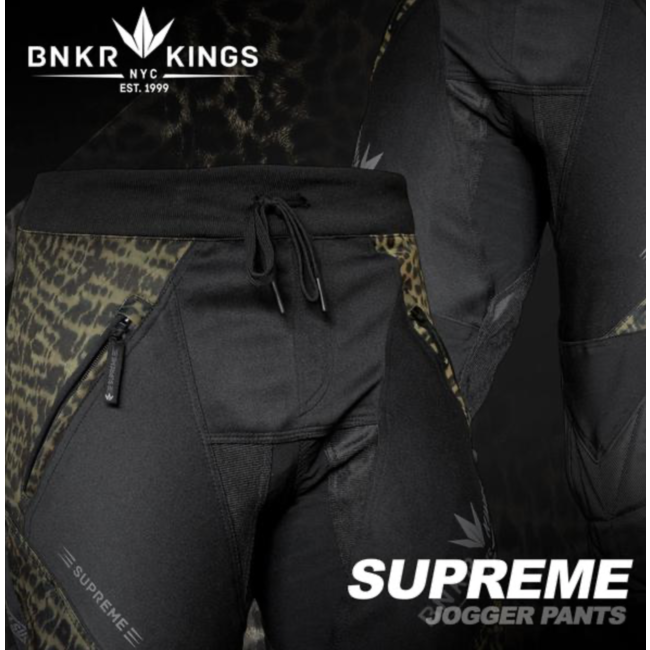 Bunkerkings Supreme Jogger pants - Leopard