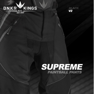 Bunkerkings Supreme pants V2 - Black