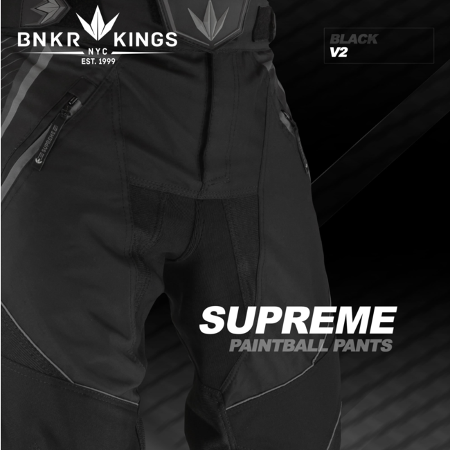 Bunkerkings Supreme pants V2 - Black