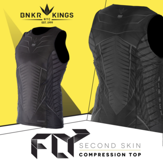 Bunkerkings Fly Sleeveless compression top