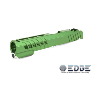 "Edge Custom ""ANA"" Aluminum Standard Slide for Hi-Capa - Green"