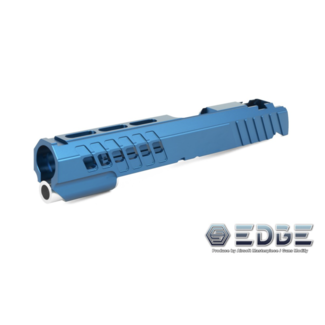 "Edge Custom ""ANA"" Aluminum Standard Slide for Hi-Capa - Blue"