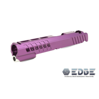 "Edge Custom ""ANA"" Aluminum Standard Slide for Hi-Capa - Purple"
