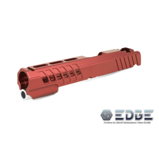 "Edge Custom ""ANA"" Aluminum Standard Slide for Hi-Capa - Red"
