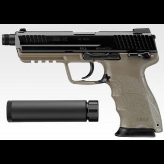 Tokyo Marui HK45 Tactical GBB - Tan