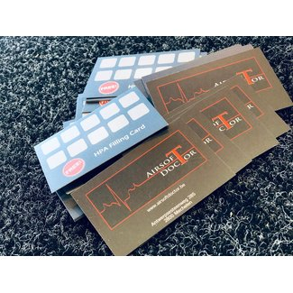 HPA Filling Card