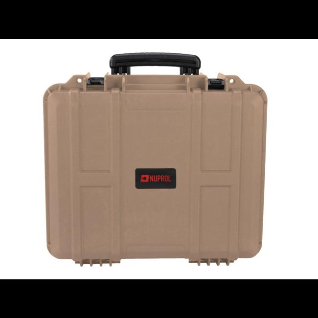 Nuprol Medium Equipment Hard Case - Tan