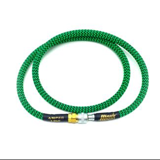 MonkCustoms Amped Line Standard Weave 42″ – Green/Black