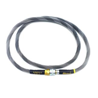 MonkCustoms Amped Line Standard Weave 42″ – White & Grey Spiral