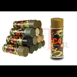 C4 Mil Grade Color Spray - Coyote