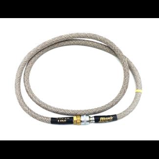 MonkCustoms Amped Line Industrial Weave 42″ – Stainless Steel