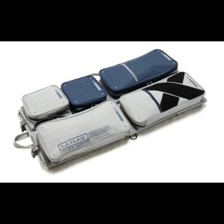 Laylax Satallite container gun Case - Grey/Navy