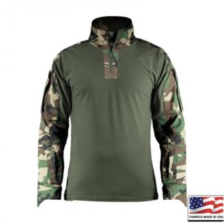 Spar-Tac Ares Combat Shirt - Woodland