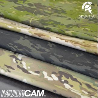 Spar-Tac Ares Combat Shirt - Multicam Black