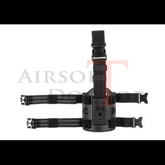 Amomax Drop Leg Platform - Black