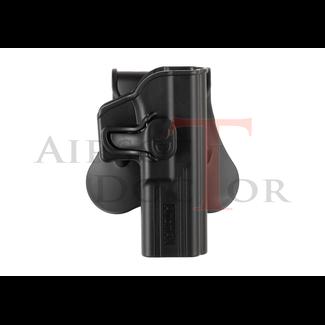 Amomax Paddle Holster for Glock 17 / KWA ATP / APS ACP - Black