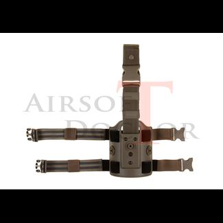 Amomax Drop Leg Platform - Tan
