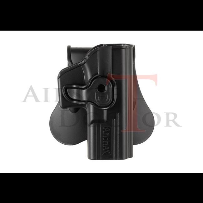 Amomax Paddle Holster for WE17 / TM17 / KJW17 - Black