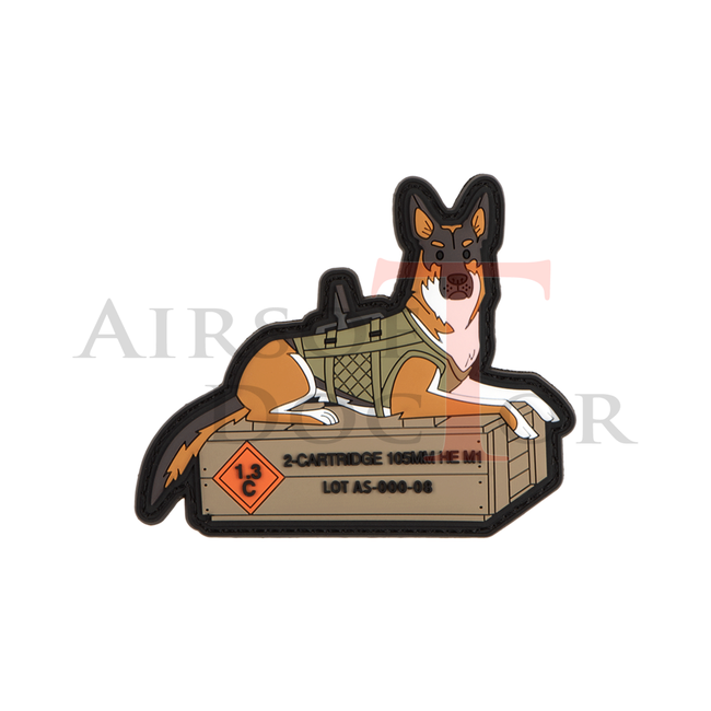 Patch - German Shepard Tactical Dog
