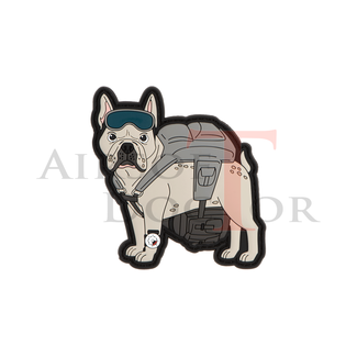 Patch - Frenchie - Paratrooper French Bulldog