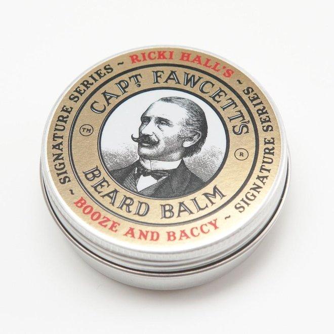 Beard balm booze & baccy