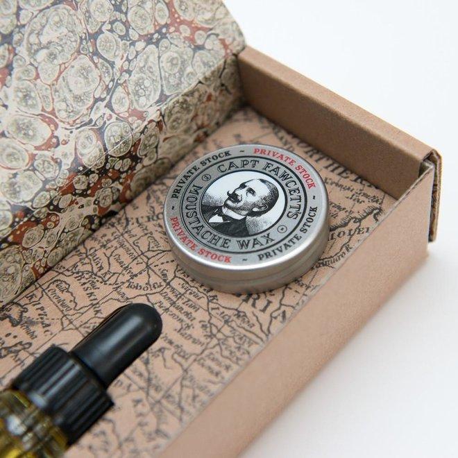 Captain Fawcett private stock gift set