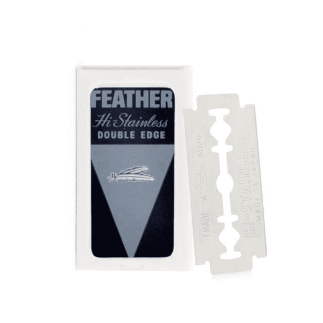 Feather double edge blades 71-s
