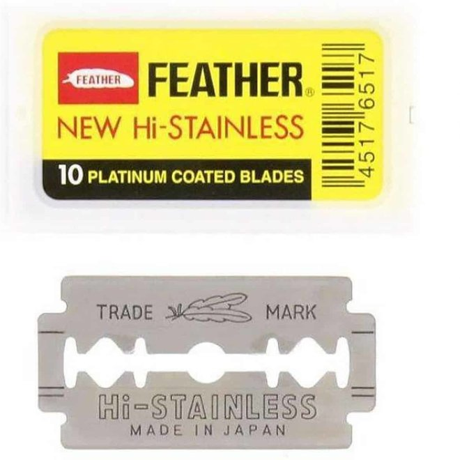 Feather double edge blades 81-S (10 st)