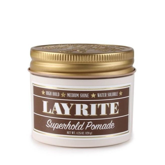 Layrite Super hold pomade 120gr