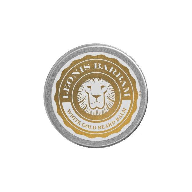 White gold beard balm
