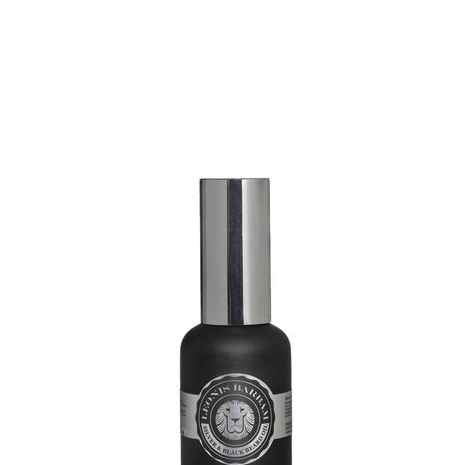 Silver & black beard oil
